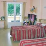 Dormitorios dobles en Residencia de Mayores Ntra. Sra. del Pilar de Collado