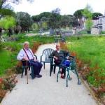 Jardines en residencia de Mayores Ntra. Sra. del Pilar de Collado