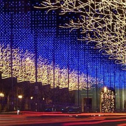 Ntra. Sra. del Pilar visita Madrid en Navidad