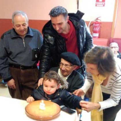 Sebastián Moralejo cumple 102 años