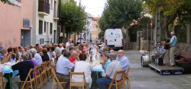 Cena para los jubilados de Collado Mediano