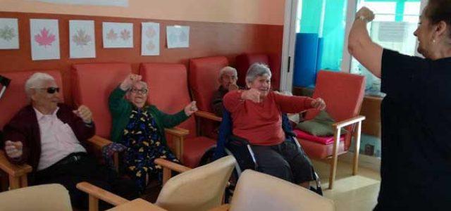 Musicoterapia con personas mayores
