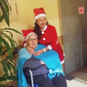 Navidad 2016 en la Residencia de mayores Del Pilar de Collado