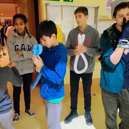 Visitas de jóvenes de Alpedrete