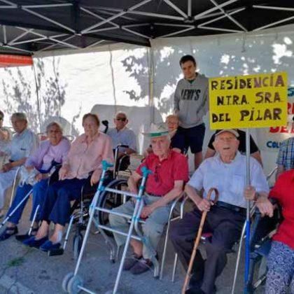 La Residencia Ntra. Sra. del Pilar asiste a la Milla Intergeneracional.