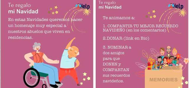 """Nace la campaña """"Te regalo mi Navidad"""" dirigida a nuestros mayores que viven en las residencias"""